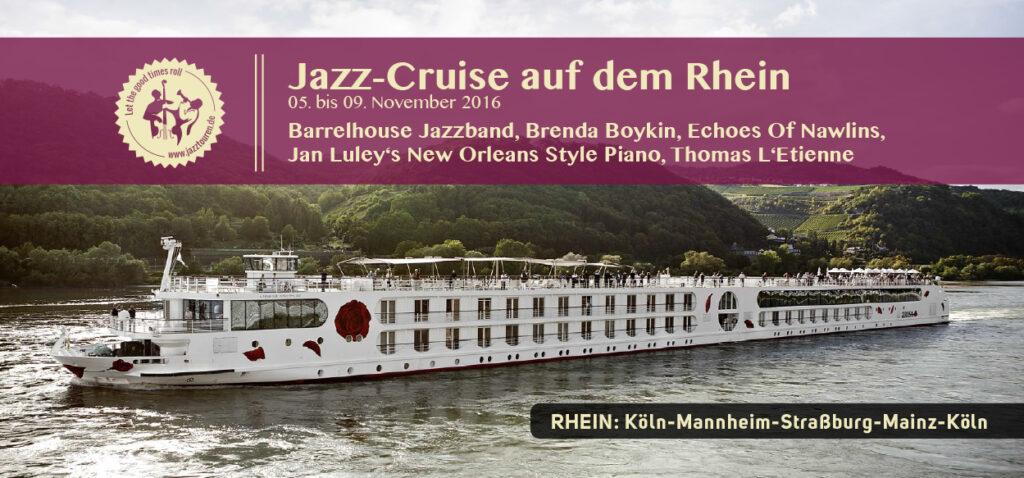Jazz-Cruise auf dem Rhein 2016 - Piano Berretz