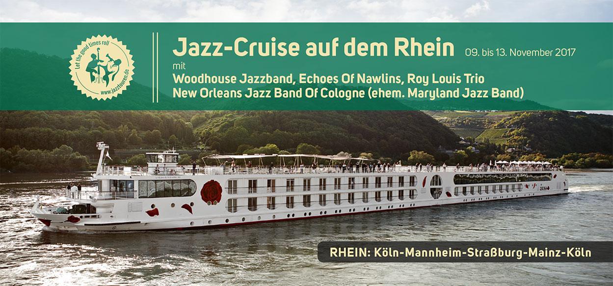 Jazz-Cruise auf dem Rhein 2017 - Piano Berretz
