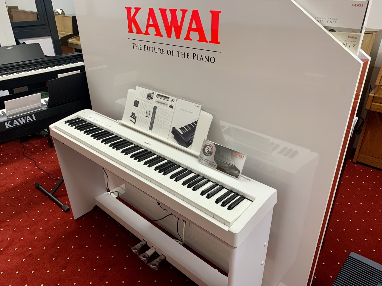 Kawai ES110 W Bundle 2